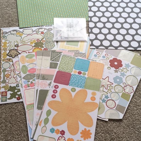 paper sticker creative memories  stamping'up!